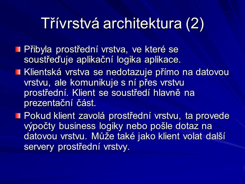 Třívrstvá architektura (2)