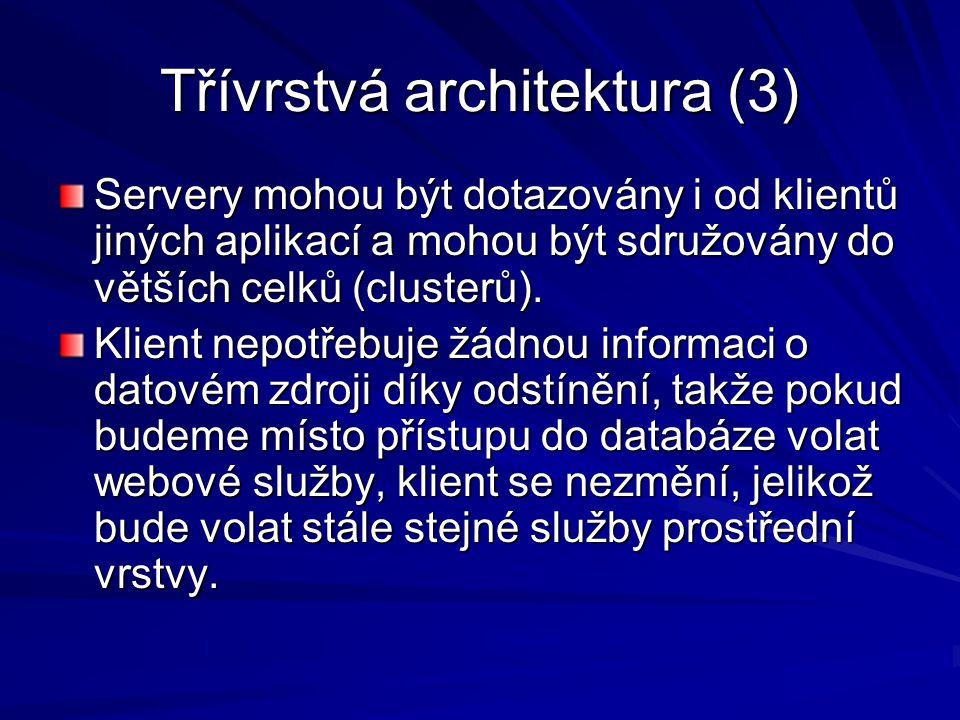 Třívrstvá architektura (3)
