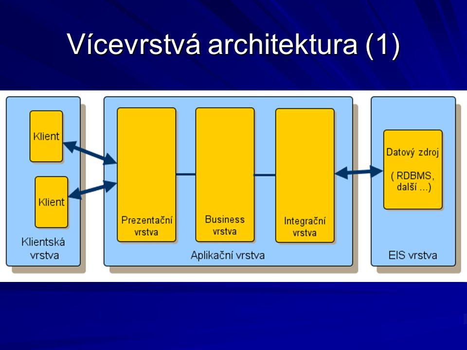 Vícevrstvá architektura (1)
