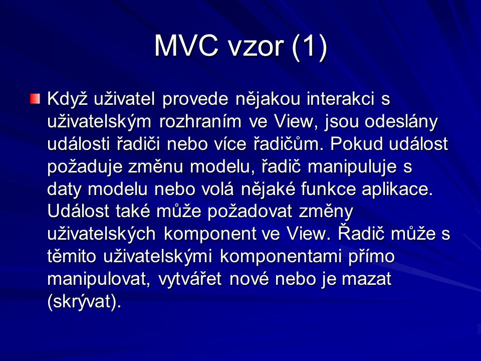 MVC vzor (1)