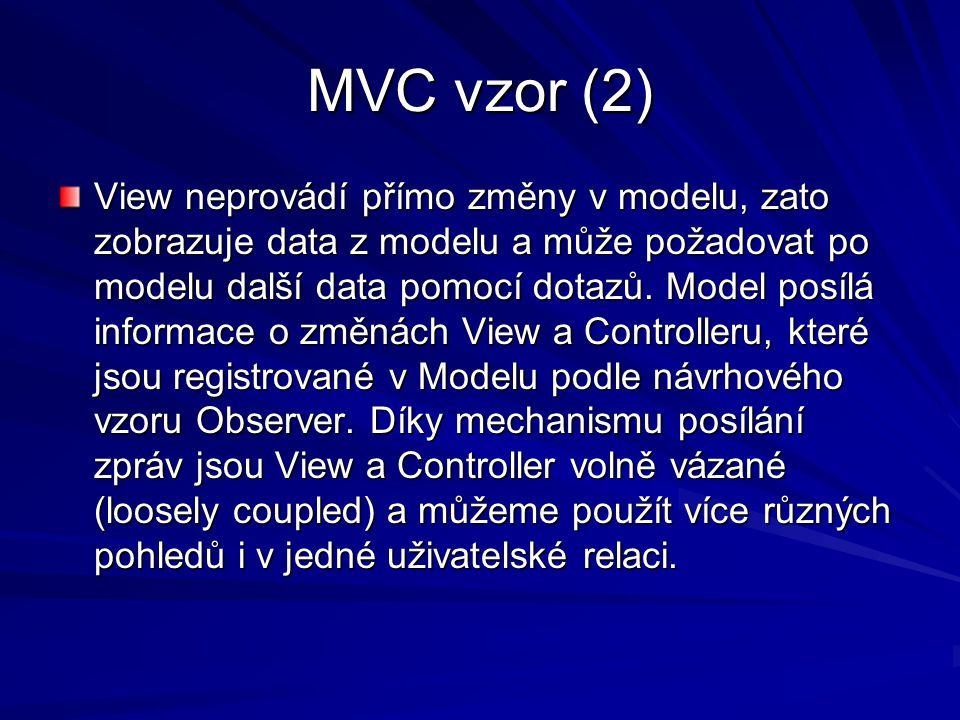 MVC vzor (2)