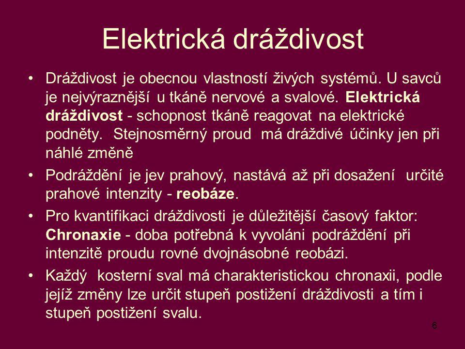 Elektrická dráždivost