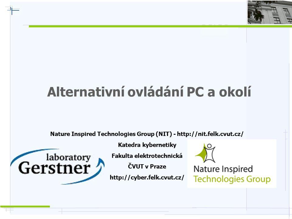 Alternativní ovládání PC a okolí