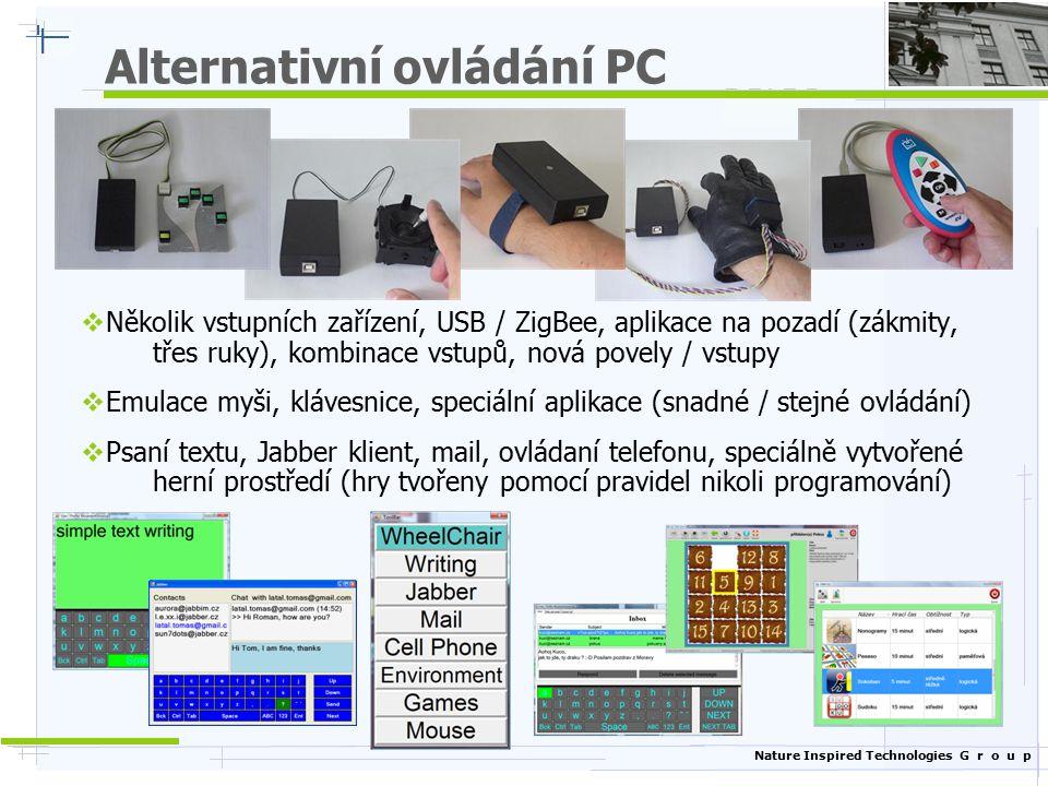 Alternativní ovládání PC