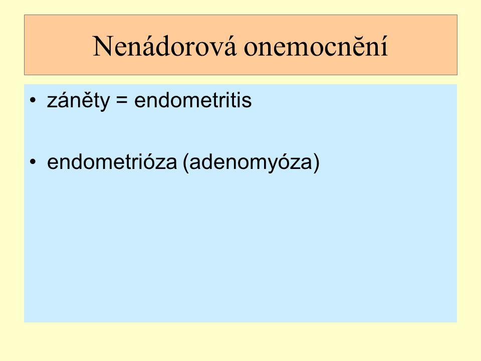 Nenádorová onemocnĕní