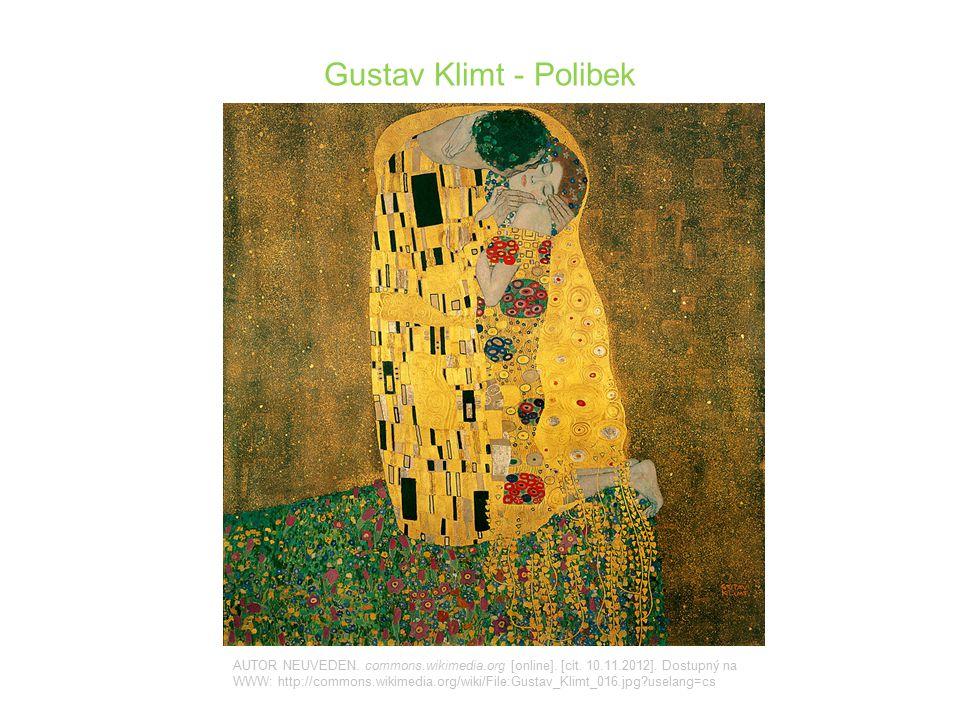 Gustav Klimt - Polibek