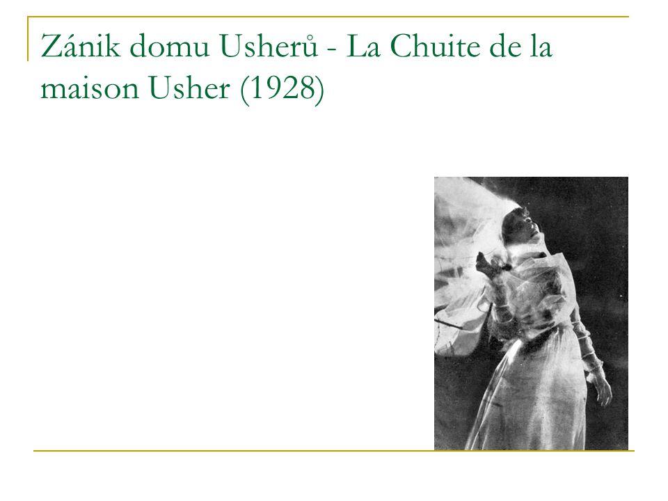 Zánik domu Usherů - La Chuite de la maison Usher (1928)