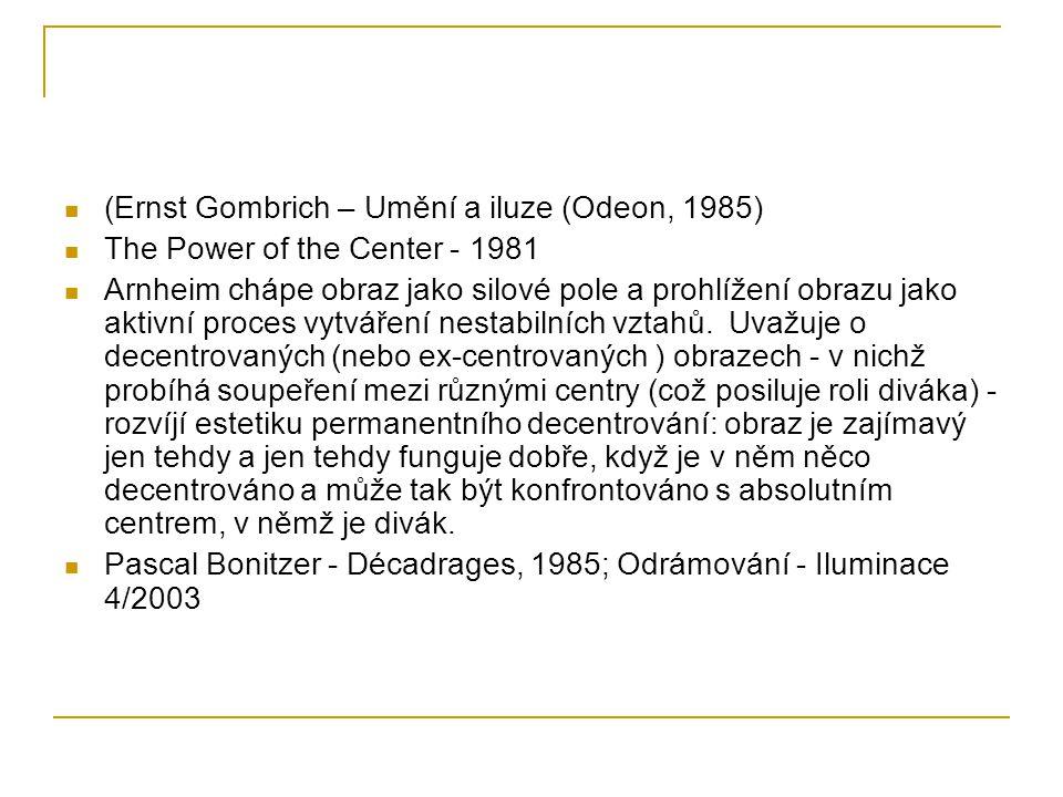 (Ernst Gombrich – Umění a iluze (Odeon, 1985)