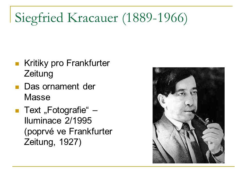 Siegfried Kracauer (1889-1966)