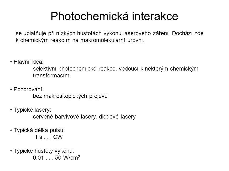 Photochemická interakce