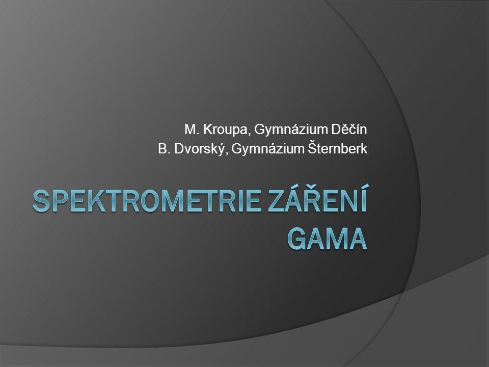 Spektrometrie záření gama