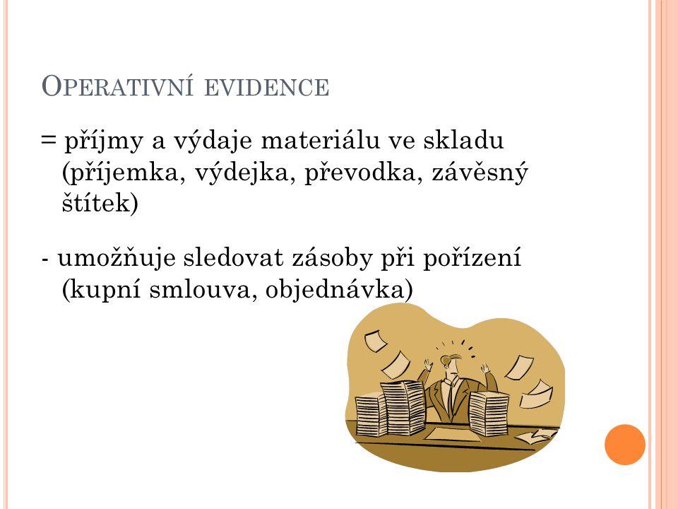 Operativní evidence