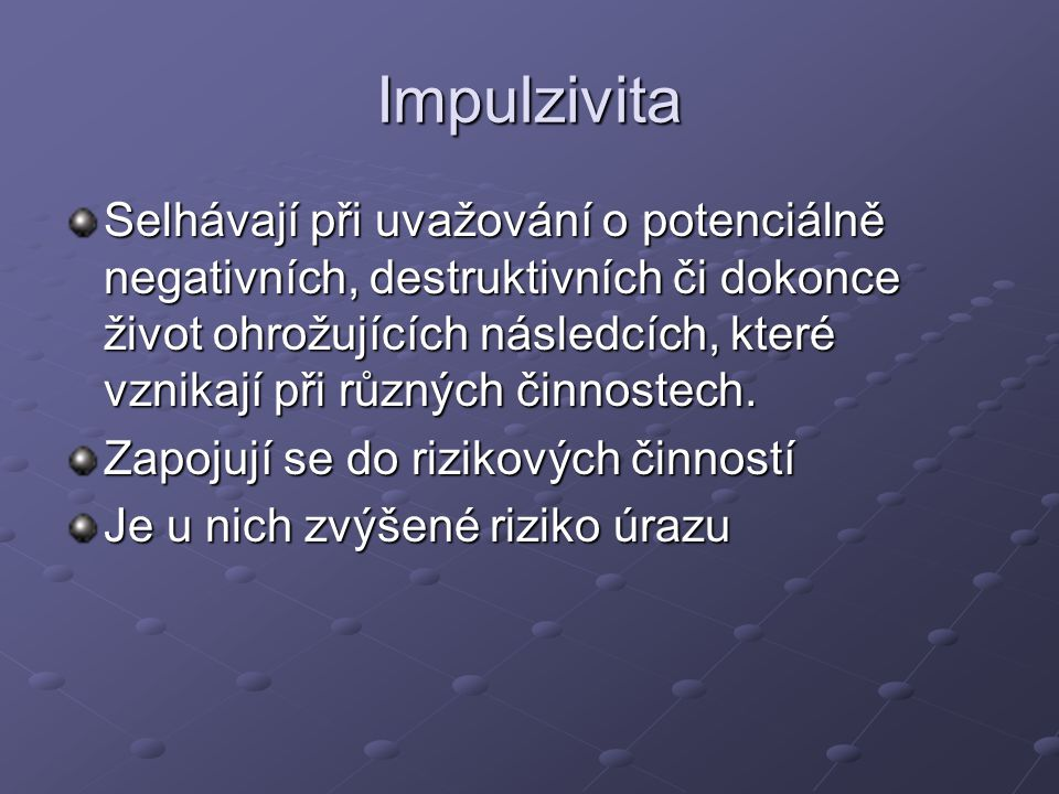 Impulzivita