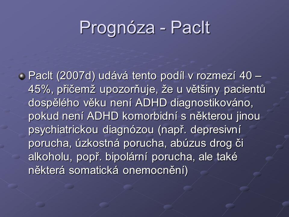 Prognóza - Paclt