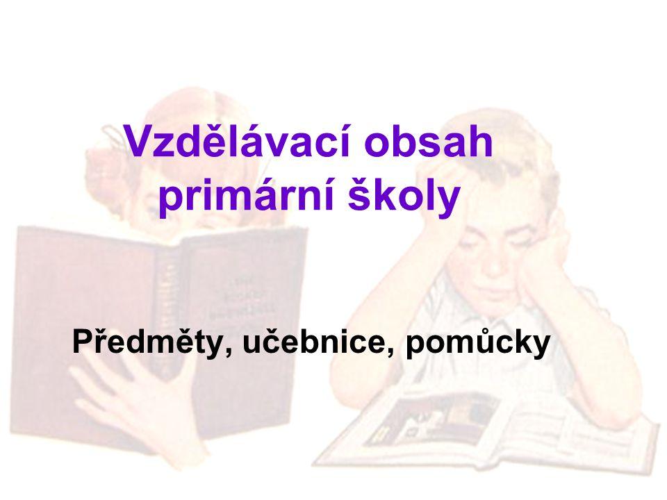 Vzdělávací obsah primární školy