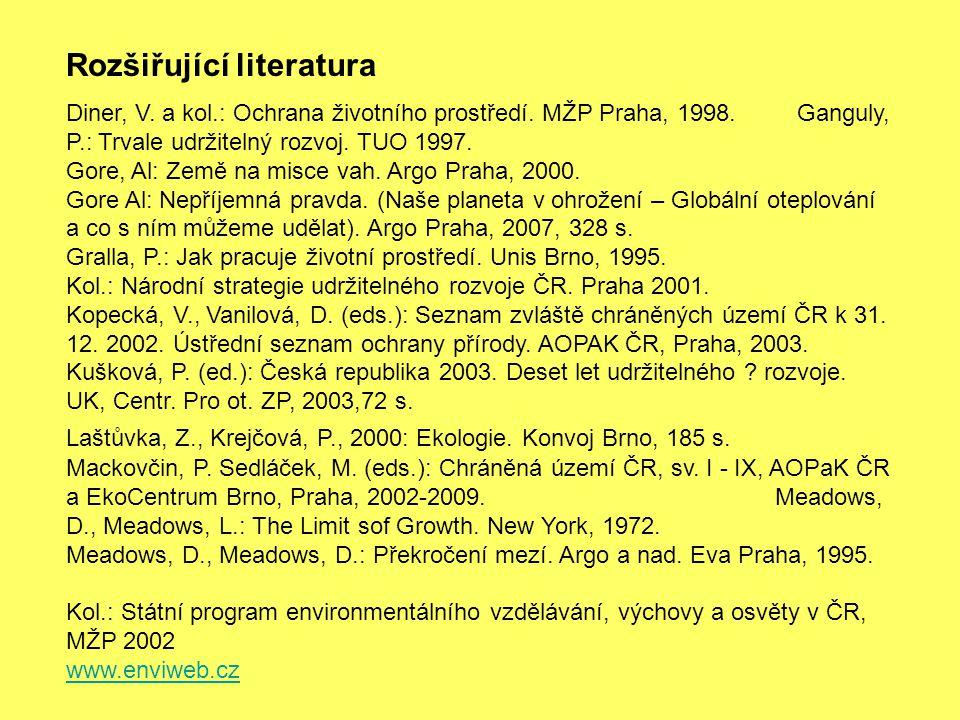 Rozšiřující literatura