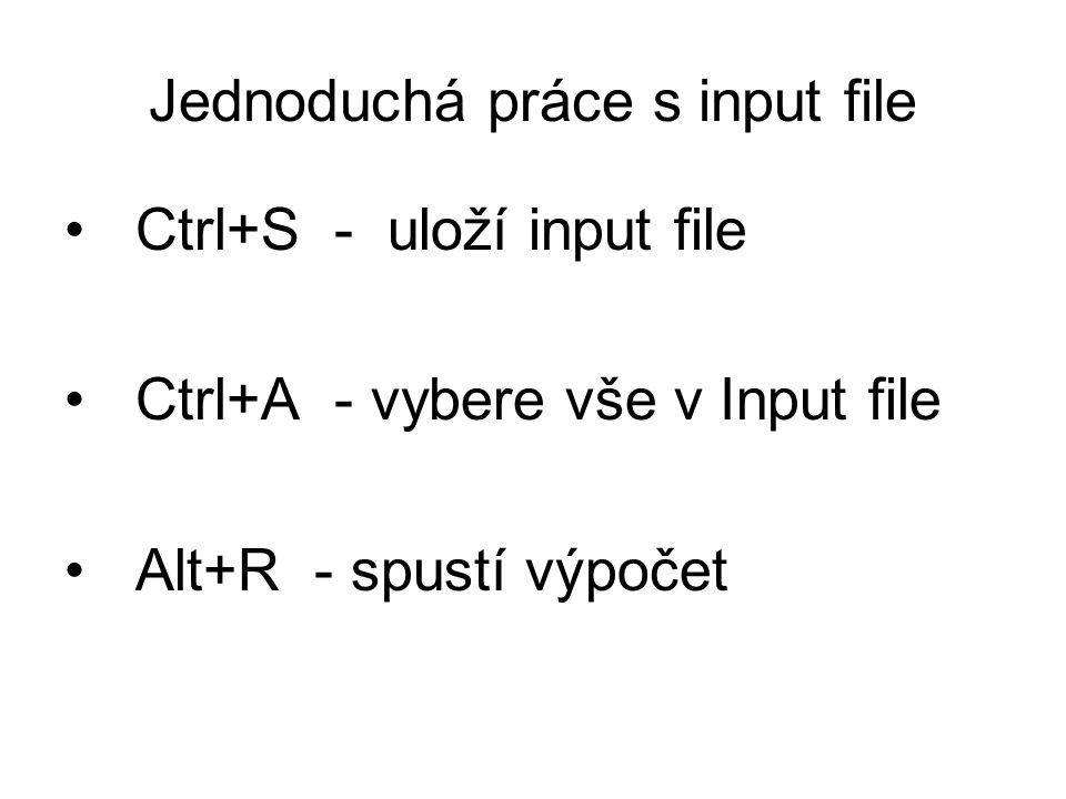 Jednoduchá práce s input file