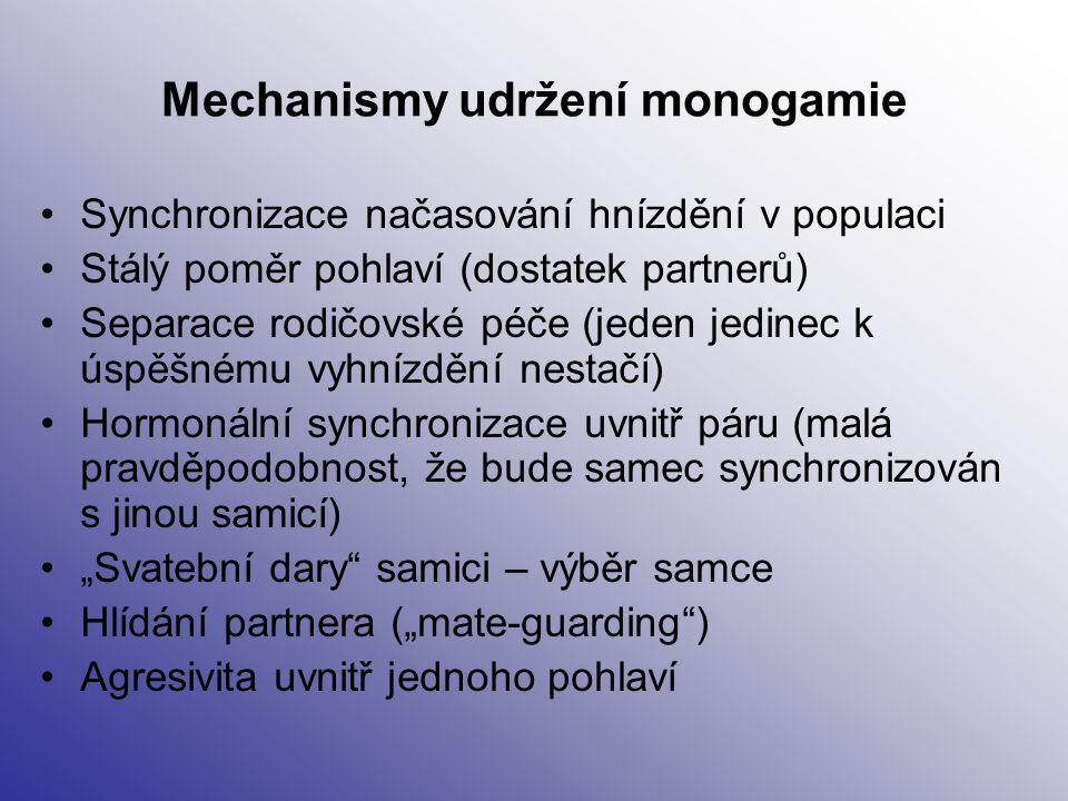 Mechanismy udržení monogamie