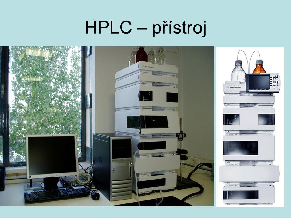 HPLC – přístroj