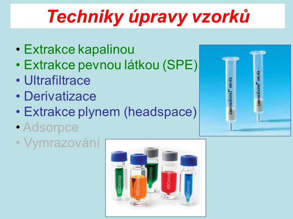 Techniky úpravy vzorků