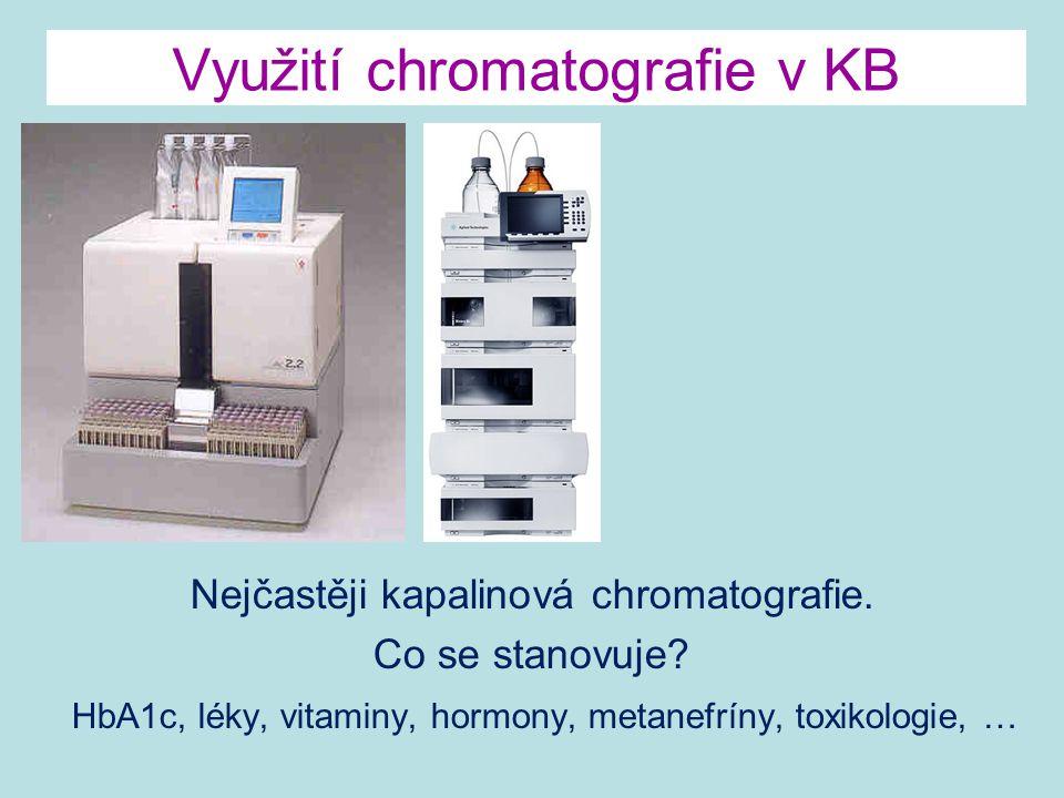 Využití chromatografie v KB