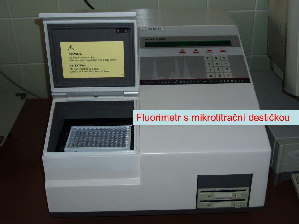 Fluorimetr s mikrotitrační destičkou