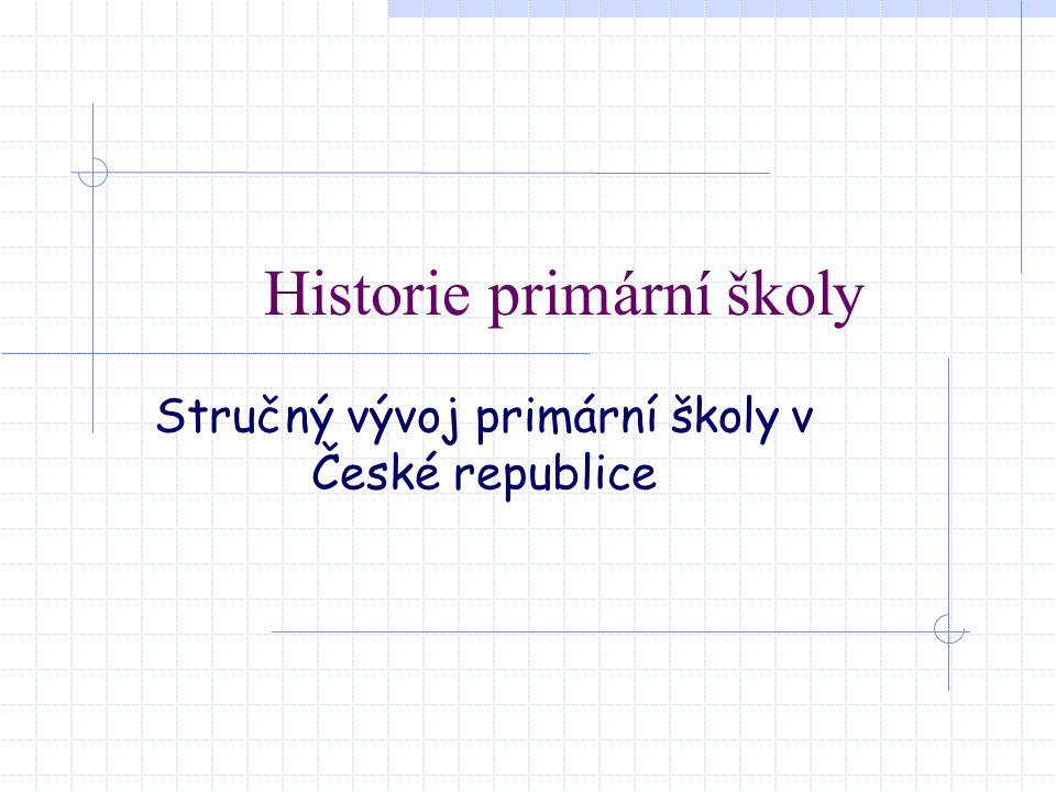 Historie primární školy