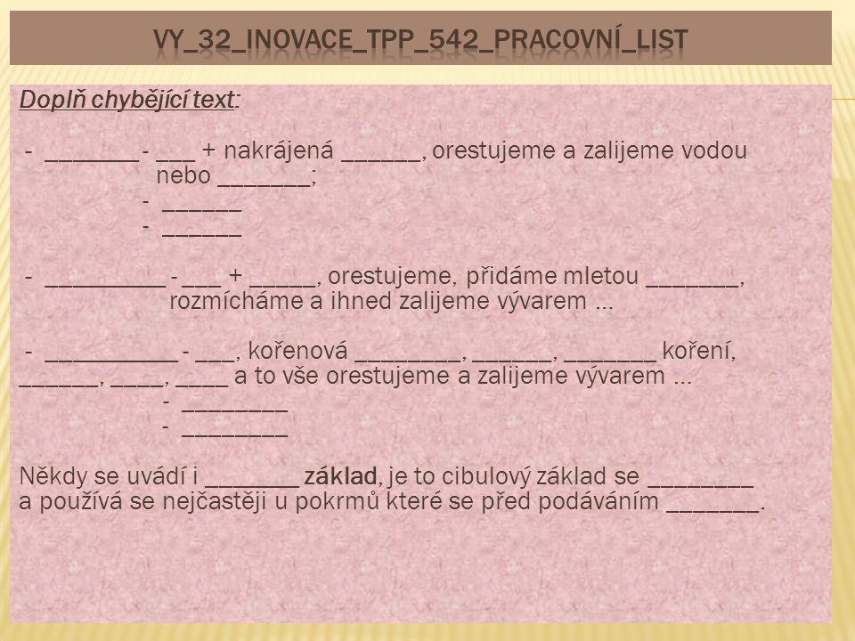 VY_32_INOVACE_TPP_542_pracovní_list