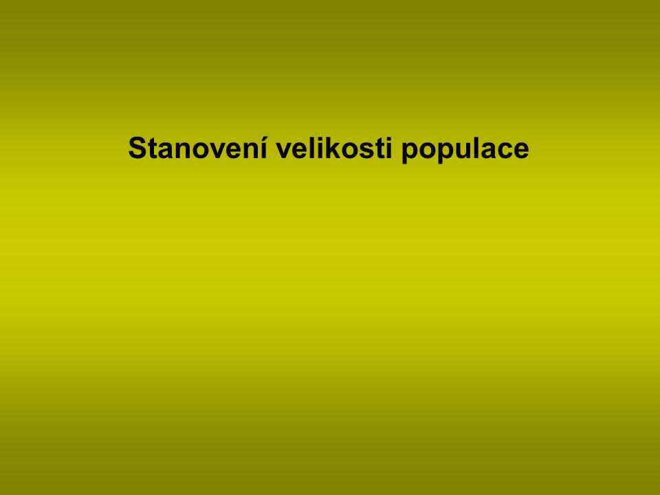 Stanovení velikosti populace