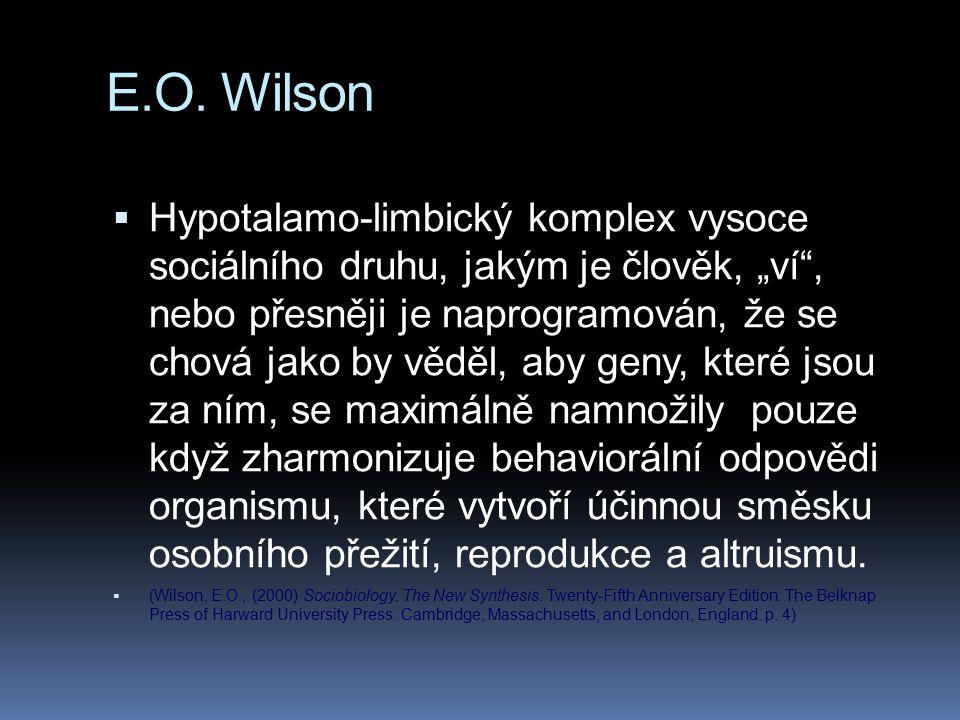 E.O. Wilson