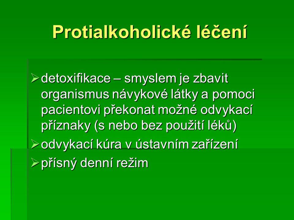 Protialkoholické léčení