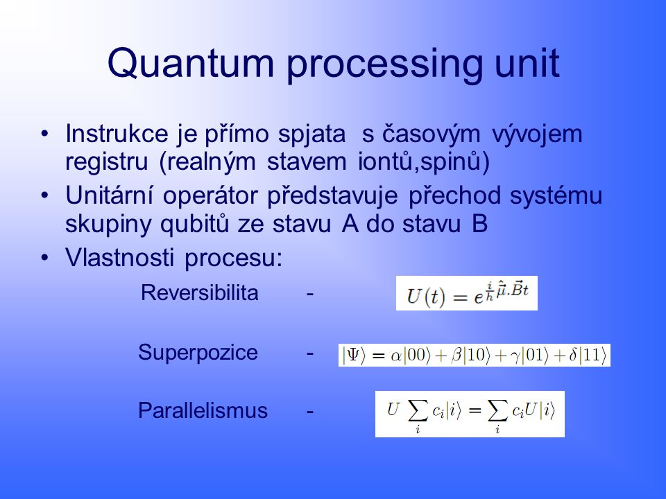 Quantum processing unit