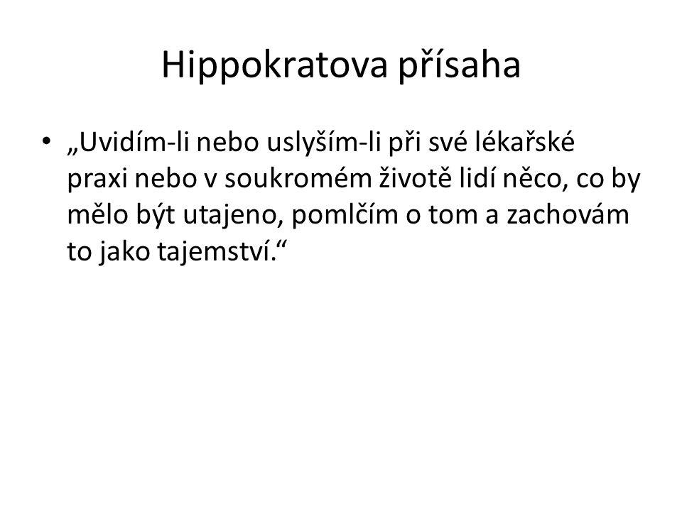 Hippokratova přísaha