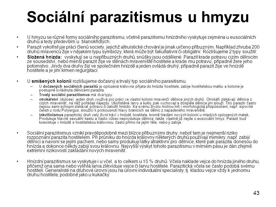 Sociální parazitismus u hmyzu