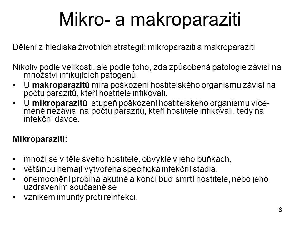 Mikro- a makroparaziti