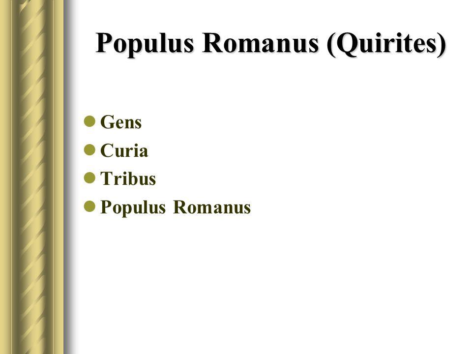 Populus Romanus (Quirites)