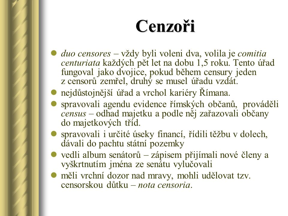 Cenzoři