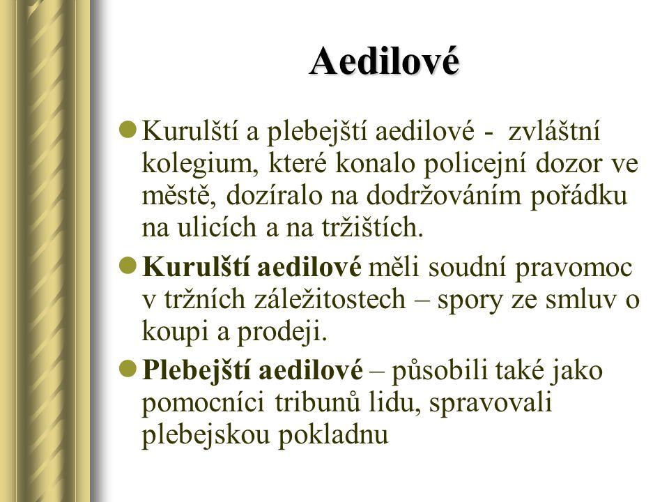 Aedilové