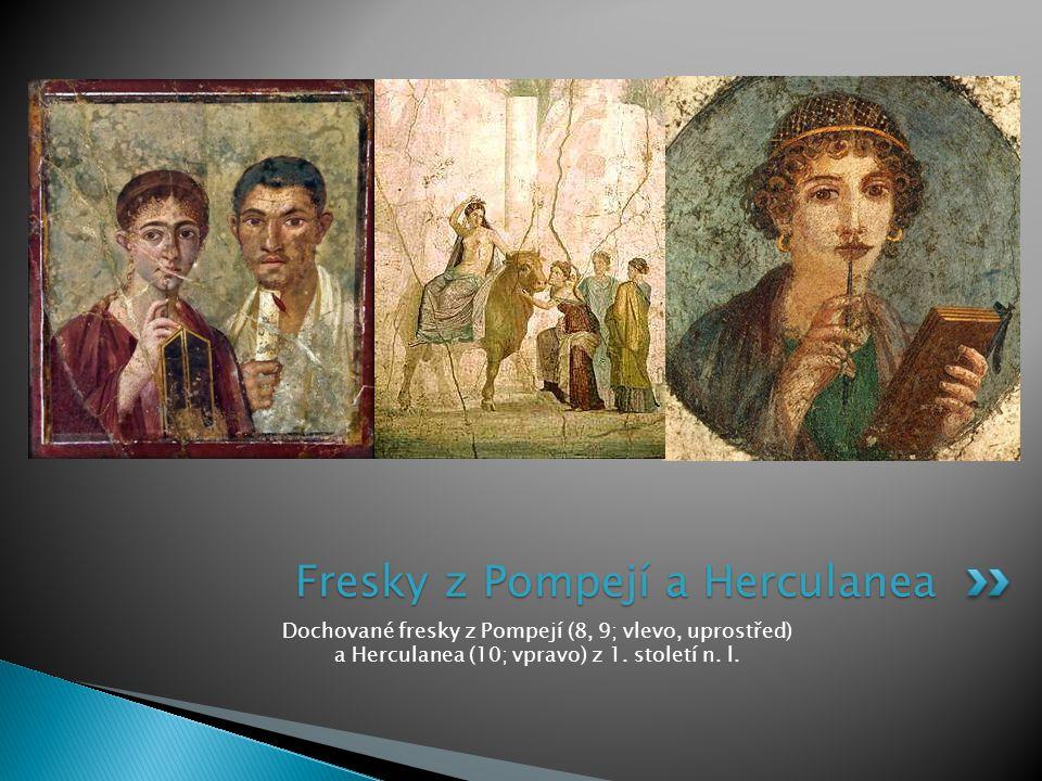 Fresky z Pompejí a Herculanea