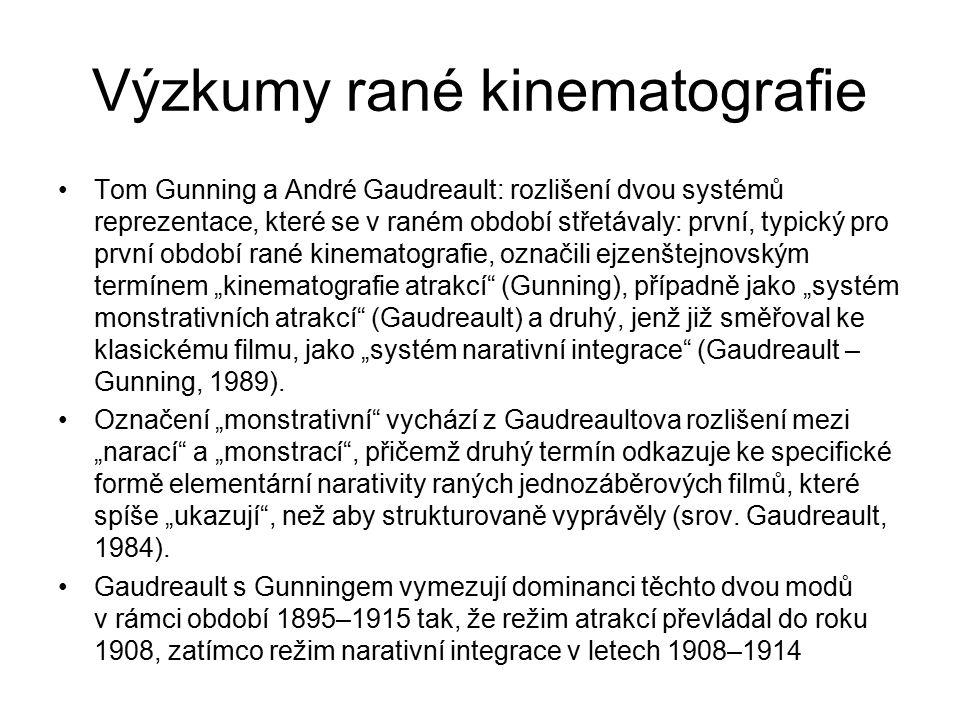 Výzkumy rané kinematografie