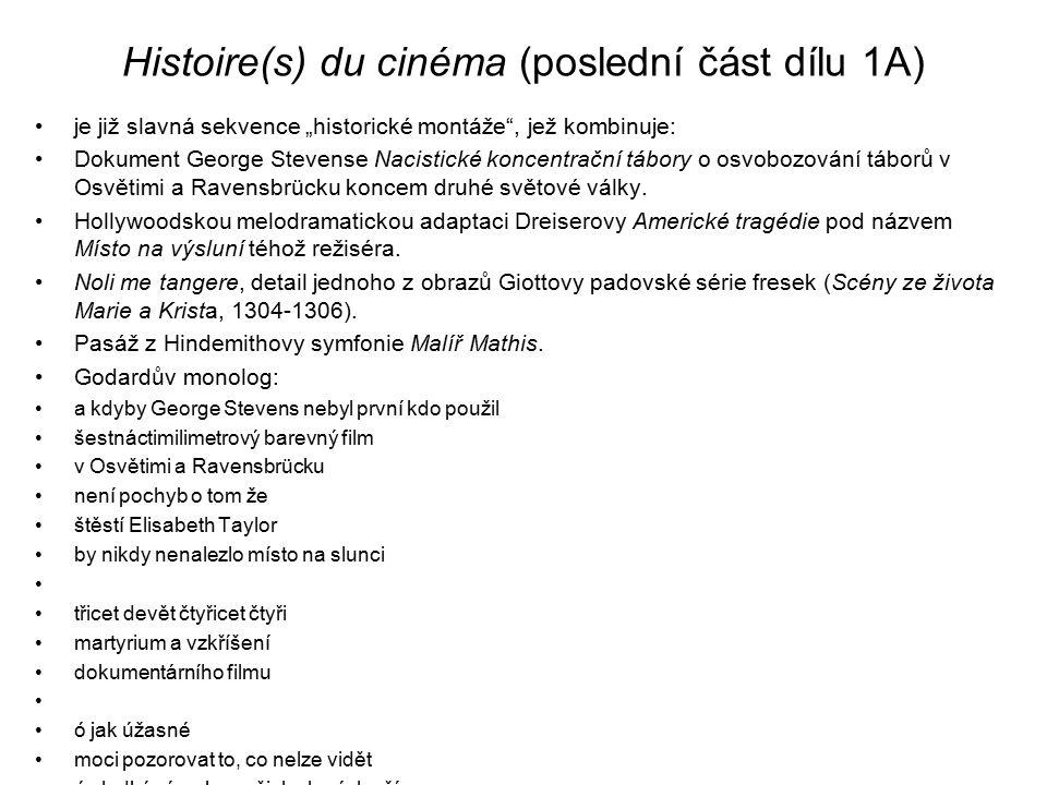 Histoire(s) du cinéma (poslední část dílu 1A)