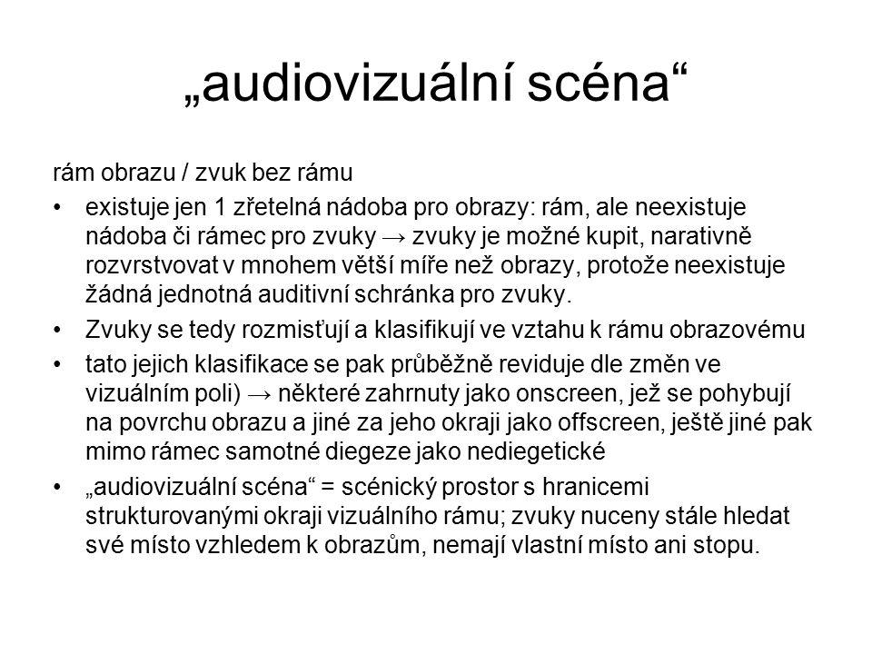 """""""audiovizuální scéna"""