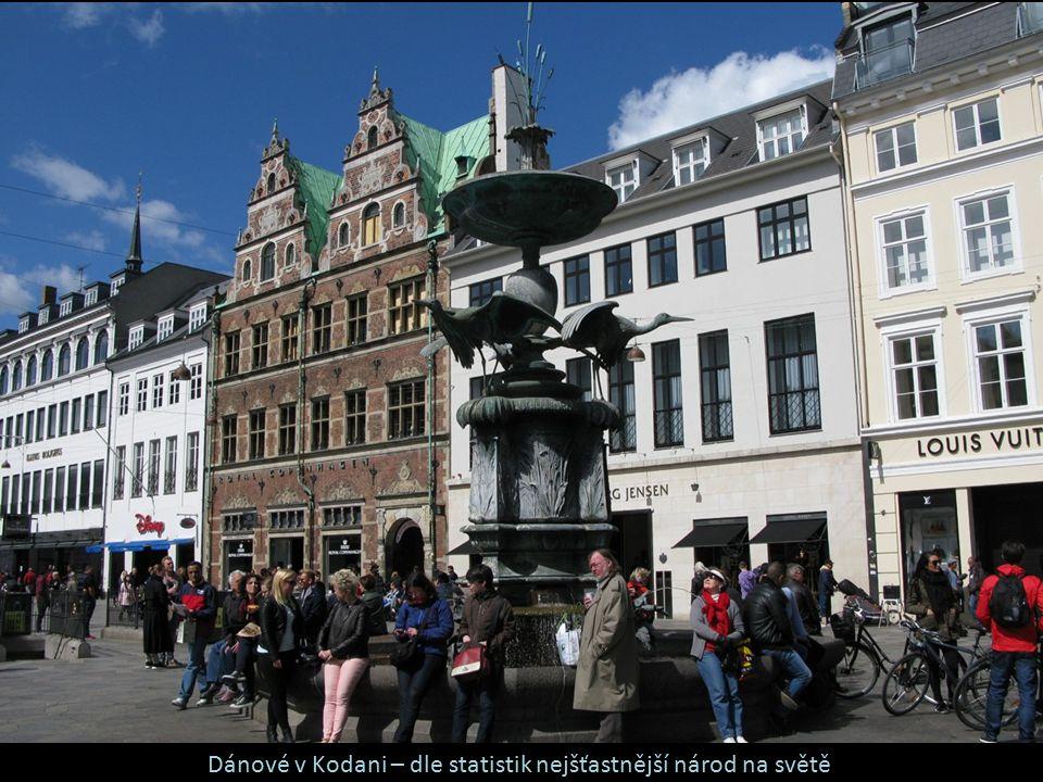 Dánové v Kodani – dle statistik nejšťastnější národ na světě