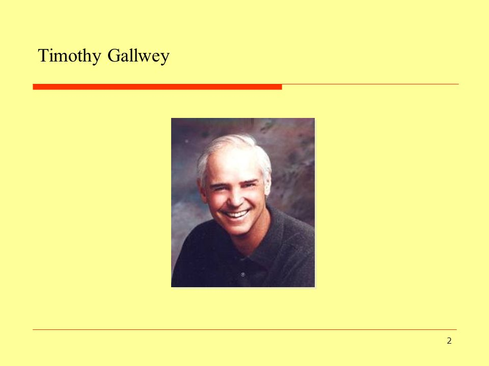 Timothy Gallwey
