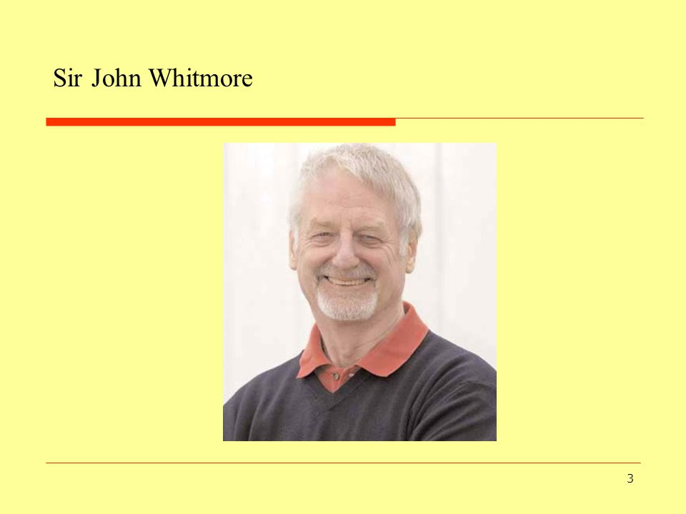 Sir John Whitmore