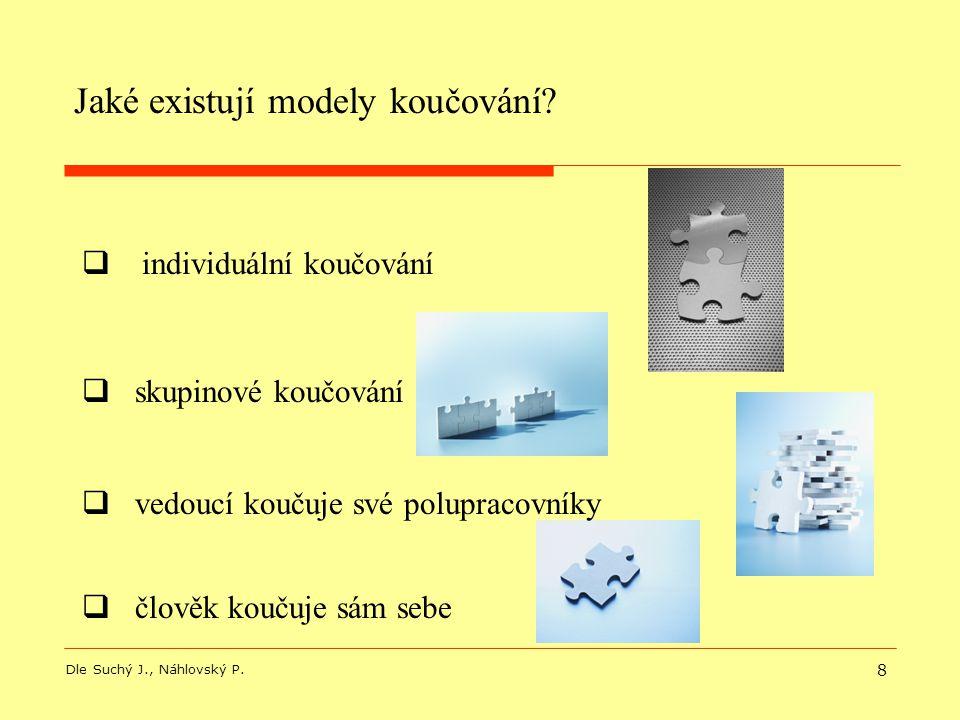 Jaké existují modely koučování
