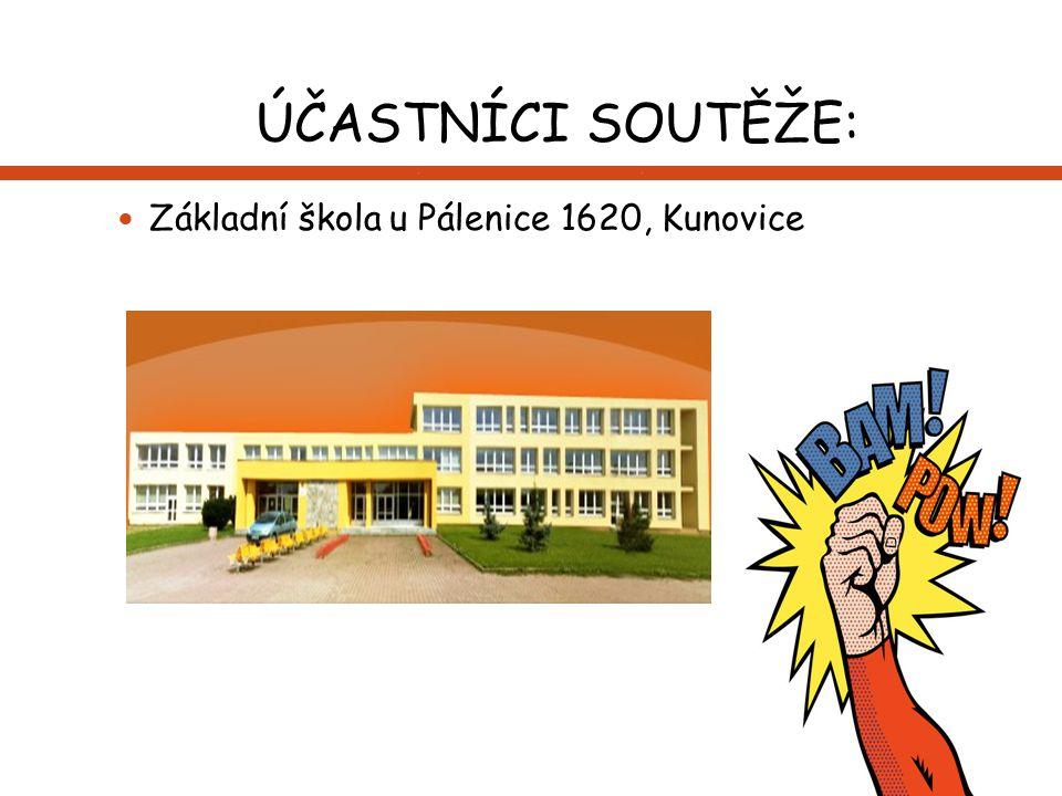ÚČASTNÍCI SOUTĚŽE: Základní škola u Pálenice 1620, Kunovice