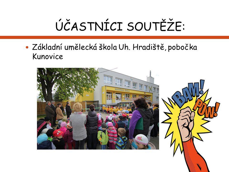 ÚČASTNÍCI SOUTĚŽE: Základní umělecká škola Uh. Hradiště, pobočka Kunovice