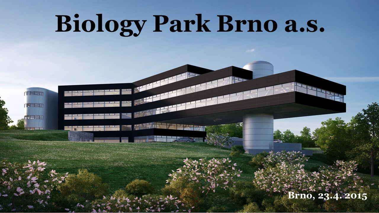 Biology Park Brno a.s. Brno, 23.4. 2015