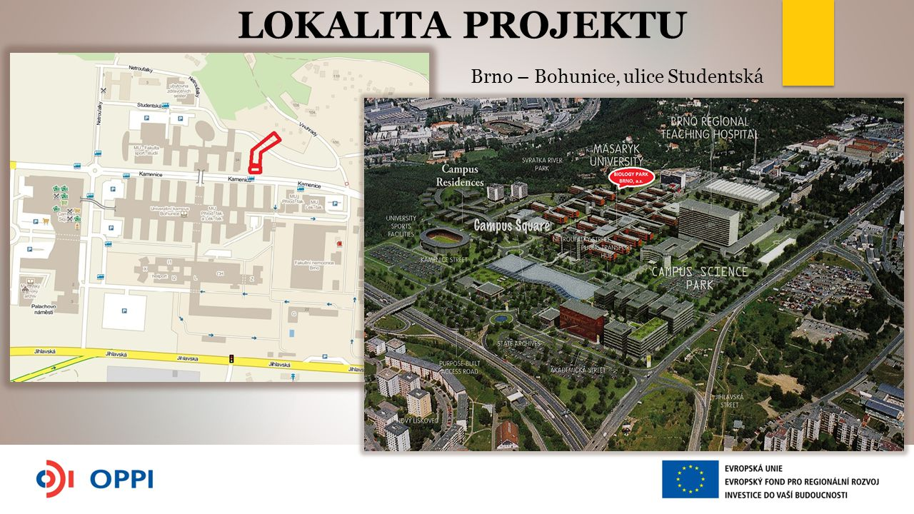 Brno – Bohunice, ulice Studentská